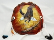 Painted Turtle Shell Wall Hanging -Eagle (3)