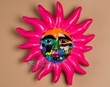 "Hand Painted Oaxaca Ceramic Sun 12""  (p154)"