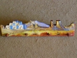 """Painted Western Coat Hat Rack - Indian Buttes 24"""""""
