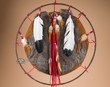"Native American Prayer Shield 18"" -Navajo  (8)"
