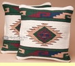 Pair Southwest Indian Style Pillow Covers -Pima Pattern