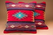 """Pair Southwest Old Style Pillow Covers 18""""x18"""" -Mimbres Style"""