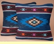 Pair Southwestern Pillow Cover 18x18 -Mescalero Pattern