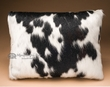 Western Cowhide Pillow 12x18  (P3)