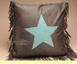 Plush Designer Western Pillow 18x18  (wp20)