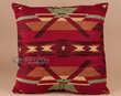Plush Southwest Designer Pillow 22x22 -Pueblo Red  (P1)