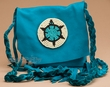 "Pueblo Indian Sage Medicine Pouch 5.25""  (49)"