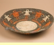 "Pueblo Indian Style Basket 14.5"" (a50)"