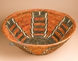 "Pueblo Indian Style Basket 20"" (a28)"