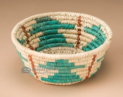 "Pueblo Indian Style Basket 5.75"" (a19)"
