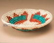 "Pueblo Indian Style Basket 9""  (a46)"