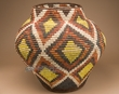 "Pueblo Indian Style Olla Basket 21""  (a56)"