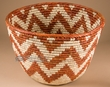 "Pueblo Indian Style Planter Basket 8.75"" (a38)"