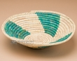 "Pueblo Indian Style Saucer Basket 11"" (a54)"