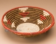 "Pueblo Indian Style Saucer Basket 9.5"" (a54)"