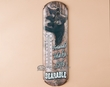 Rusitc Lodge Metal Art Thermometer Sign -Bearable  (t1)