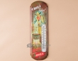 Southwest Metal Art Thermometer Sign -Chili Today  (t4)