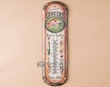 Rusitc Southwest Metal Art Thermometer Sign -Lunkers  (t9)