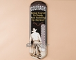 Rusitc Western Metal Art Thermometer Sign -Courage  (t5)