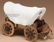 "Rustic Covered Wagon Western Accent -5"" Tall"
