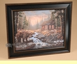 "Rustic Cowboy Art 17.75""x14.75"" -Bear Creek  (a38)"