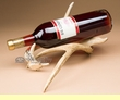 Rustic Deer Antler Wine Bottle Rack  (wr2)