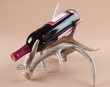 Rustic Deer Antler Wine Bottle Rack  (2)