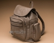 Rustic Distressed Leather Back Pack - Brown  (bp6)