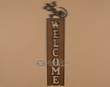 Rustic Metal Western Welcome Plaque -Gecko  (p20)