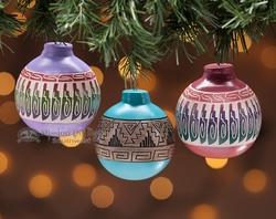 Rustic Southwest Christmas Ornaments