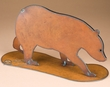 "Rustic Southwest Metal Art 11.5x16.25"" -Bear  (ma94)"
