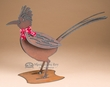 "Rustic Southwest Metal Art 16.5x11.5"" -Road Runner  (ma92)"