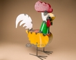 "Rustic Southwest Metal Yard Art 16"" -Rooster  (ma111)"
