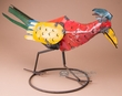 "Rustic Southwest Metal Yard Art 18"" -Road Runner  (ma98)"