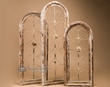 3 Rustic Arched Wall Frame Set -New Orleans  (f19)