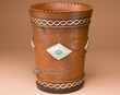 "Rustic Native Waste basket 10"" -Navajo  (wb4)"