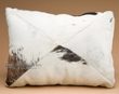 Rustic Western Cowhide Pillow 12x18 -Patchwork  (26)