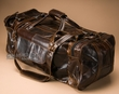"Rustic Western Leather Travel Bag 23"" -Distressed Brown  (db11)"
