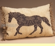 Rustic Western Ranch Designer Pillow 12x16  (wp18)