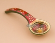 "Small Southwest Painted Talavera Salsa Spoon 5""  (t29)"
