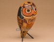 "Southwest Carved Andian Indian Gourd Bird -Owl 8""  (3)"