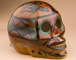 "Southwest Day Of The Dead Skull 6.5"" -Lizard  (s1)"