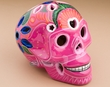 "Southwest Day Of The Dead Skull 6.5""  (s10)"