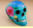 "Southwest Day Of The Dead Skull 6.5""  (s14)"