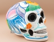 "Southwest Day Of The Dead Skull 6.5""  (s21)"