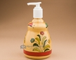"Hand Painted Talavera Soap Dispenser 7.25""  (t27)"