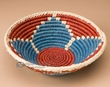 "Southwest Handwoven Palm Basket 9"" (p5)"
