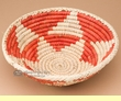 "Southwest Handwoven Palm Basket 10"" (p5)"