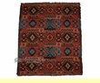 "Southwest Indian Style Blanket Throw -Hopi Pattern 50""x60"""