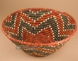 "Southwest Indian Style Palm Basket 15.5""x 8"" (72)"